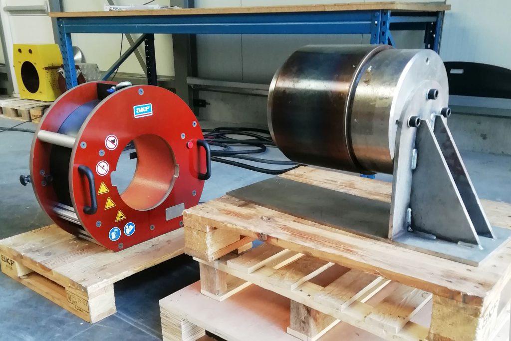 Heating Group International test voor SKF tbv inductieverwarming
