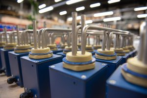 Heating Group produceert  en levert elektrische verwarmingsproducten voor de voedingsmiddelenindustrie.