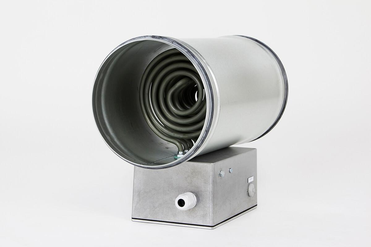 Duct heater rond van Heating Group International