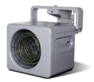 Elektrische ventilatorkachel geschikt voor gebruik in windturbines en windmolens.